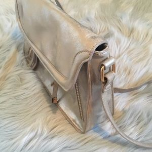 Gianni Bini Brushed Gold/Copper crossbody